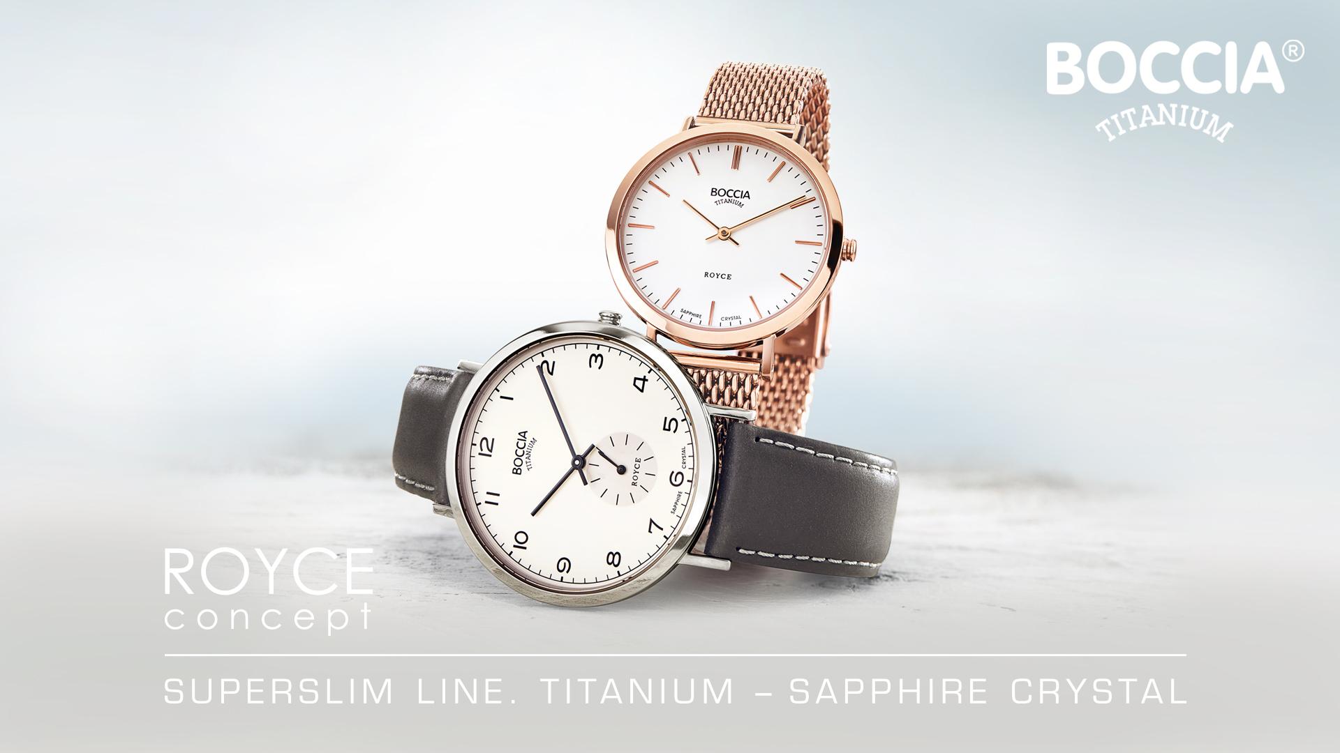 Boccia Titaniuum mit Chronographen
