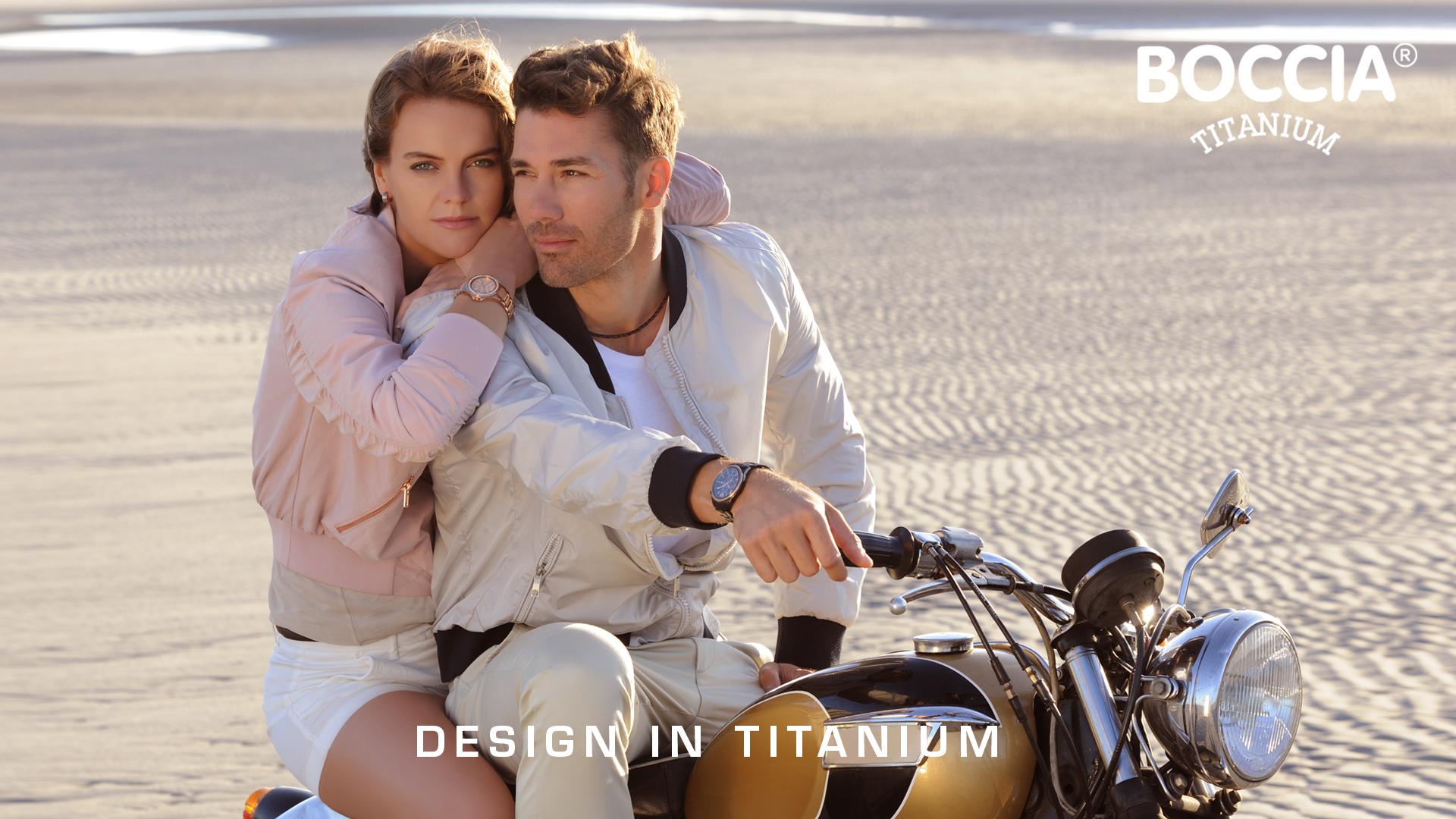 Boccia Titanium Uhren für Damen und Herren Slider Bild 1