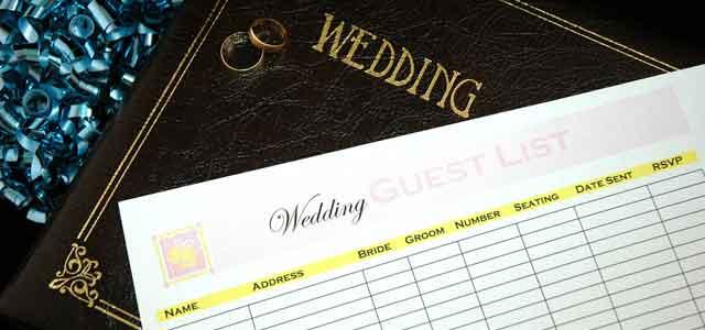 gGästeliste für die Hochzeit erstellen - Beitragsbild